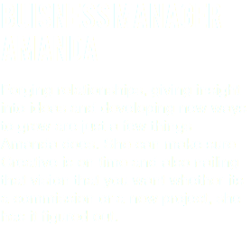 Buisness Manager Amanda Forging relationships, giving insight into ideas and developing new ways to grow are just a few things Amanda does. She can make sure Creative is on time and also nailing that vision that you want whether its a commission or a new project, she has it figured out.